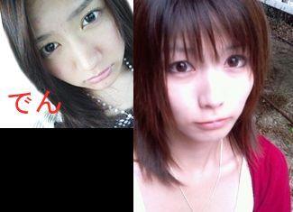 左、清水楓。右、京本有加。