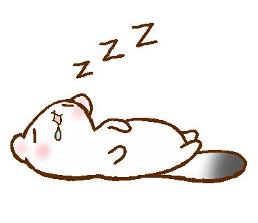 LINEスタンプ zzz おやすみ