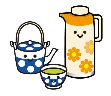 LINEスタンプ お茶