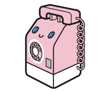 LINEスタンプ 公衆電話
