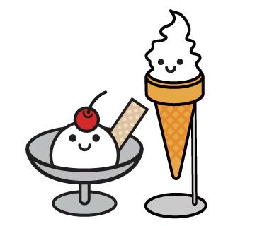LINEスタンプ ソフトクリーム