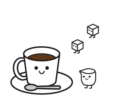 LINEスタンプ コーヒー カフェ