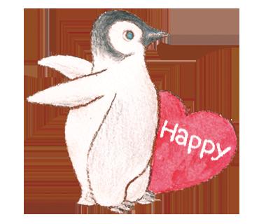 happy ペンギン