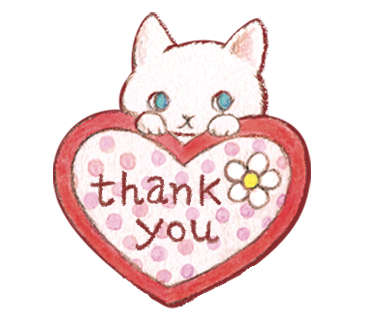 thank you ねこ