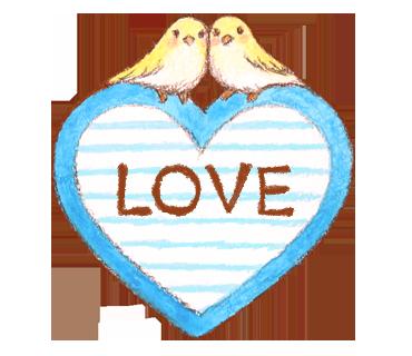 LOVE 小鳥