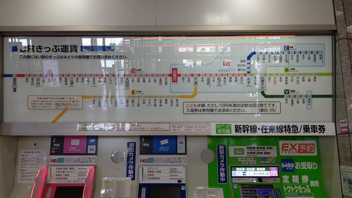 出雲市駅から路線図・FC加盟