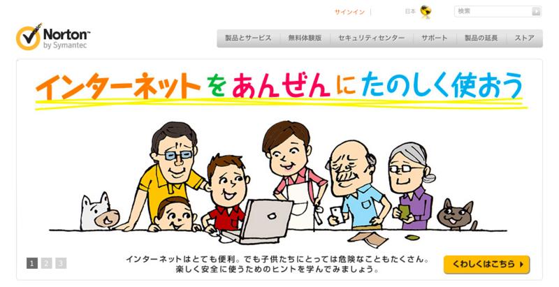 ノートンシリーズ(シマンティック社)