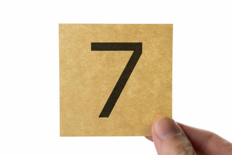 7つの心得