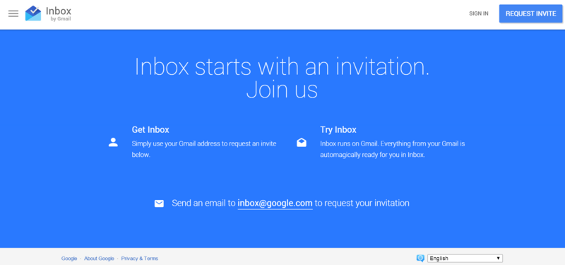inbox invitation