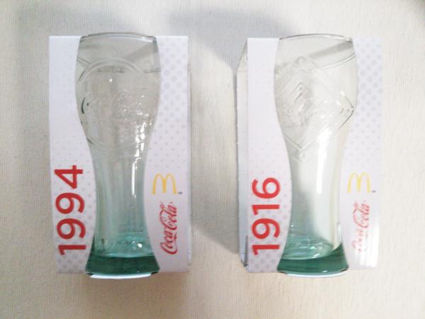 コカコーラのグラス