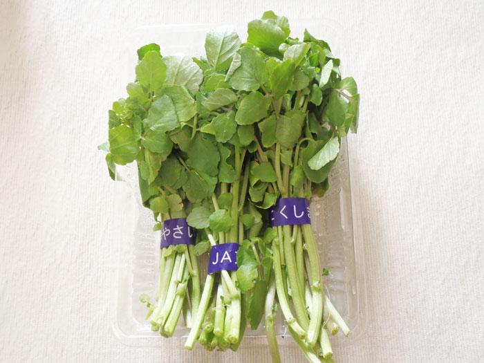 栄養価の高い野菜第1位!スーパーベジタブルのクレソンを食べ ...