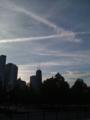 シカゴで見つけた、大好きな飛行機雲