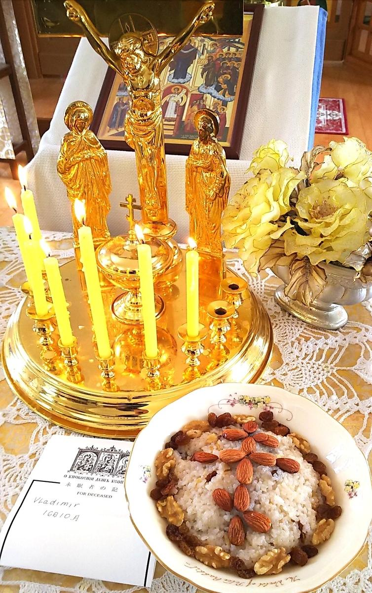 今月もパニヒダを献じました~祈りの言葉「永遠の記憶」について ...