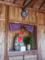 大草の紀伊国川中島八兵衛之墓脇の堂内の地蔵