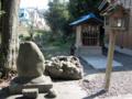 [神仏][神社]石部神社境内の津島神社と庚申塔