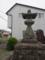 田中秋葉神社の石祠と石灯籠