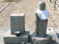 [神仏][石仏]尾川丁仏参道前の地蔵立像