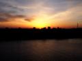 [空模様]落日
