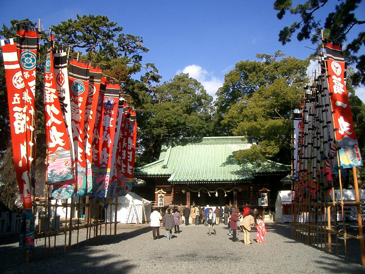 焼津神社の正月2006