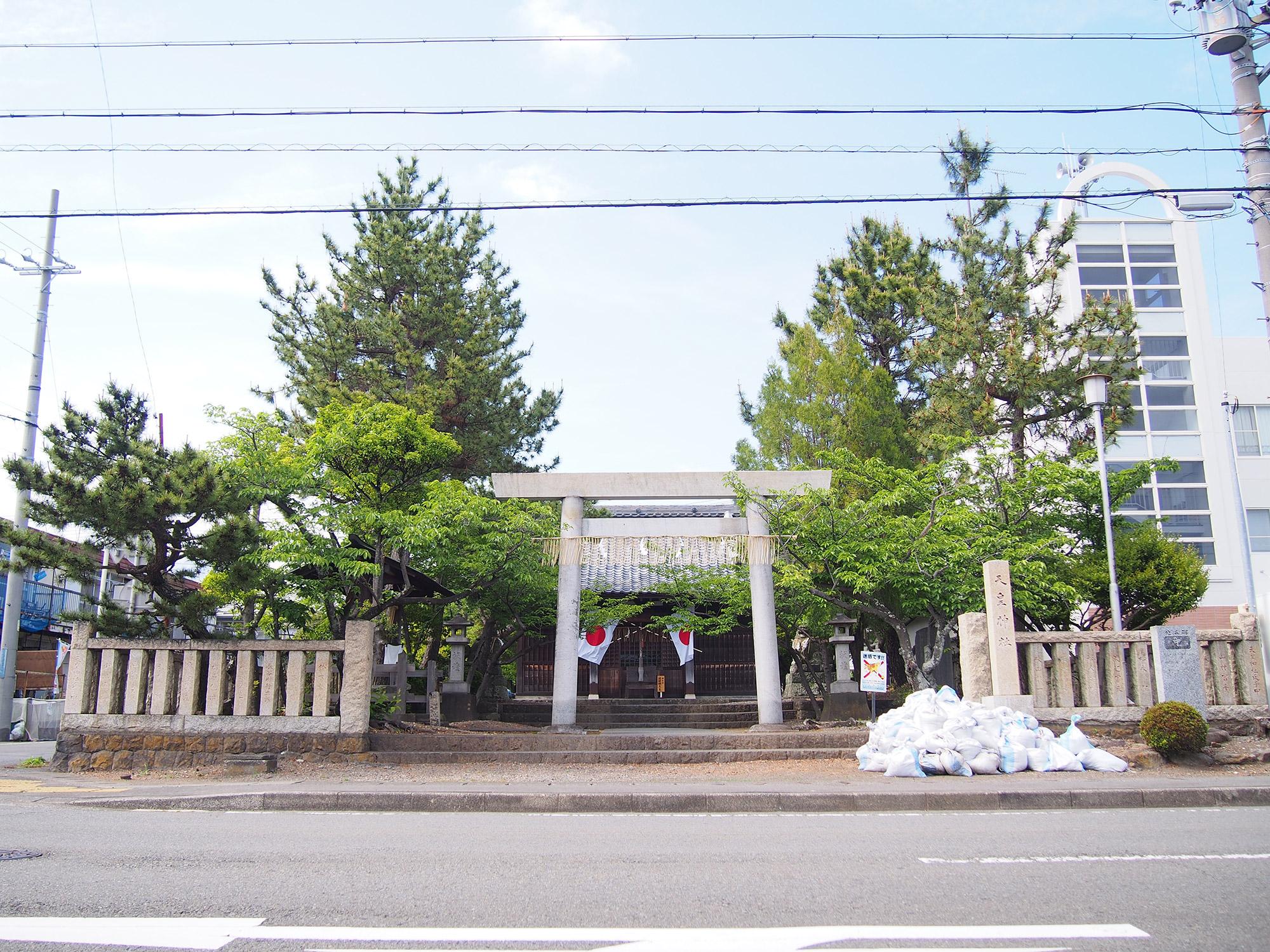 天皇神社(静岡県焼津市)