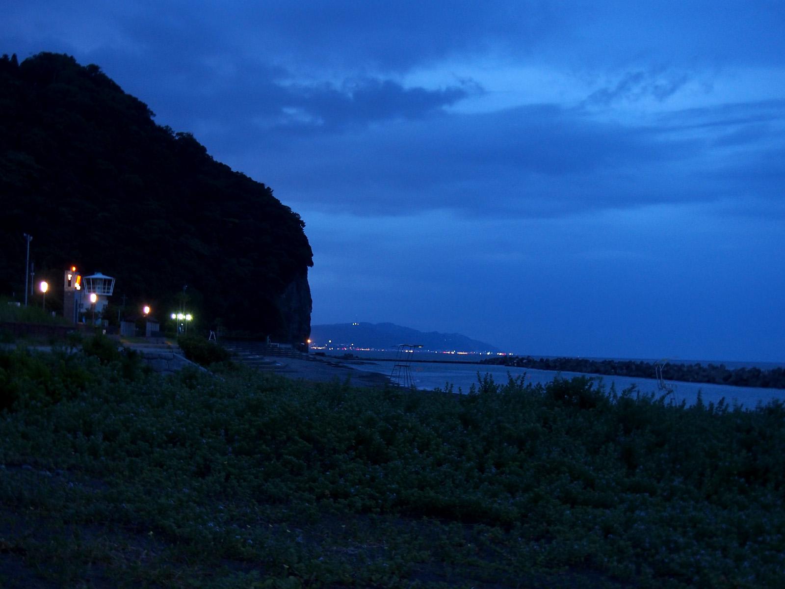 宵闇海水浴場