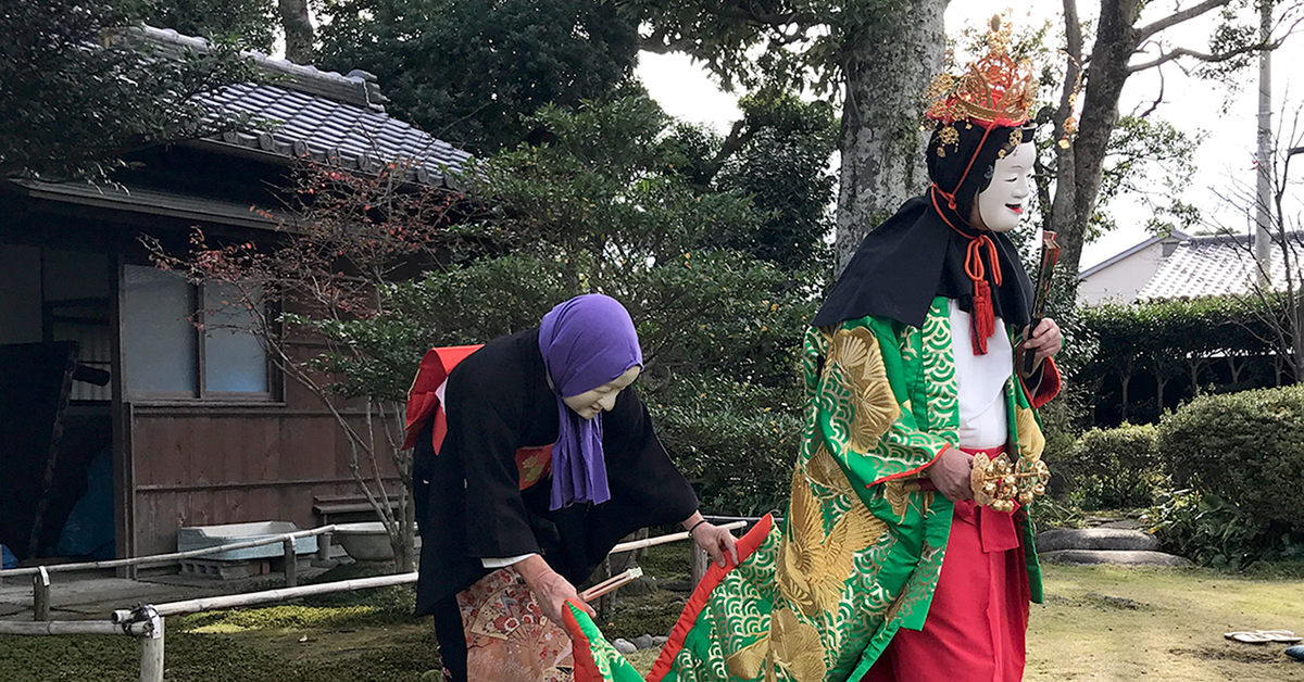 笹間神楽、宇須女の舞