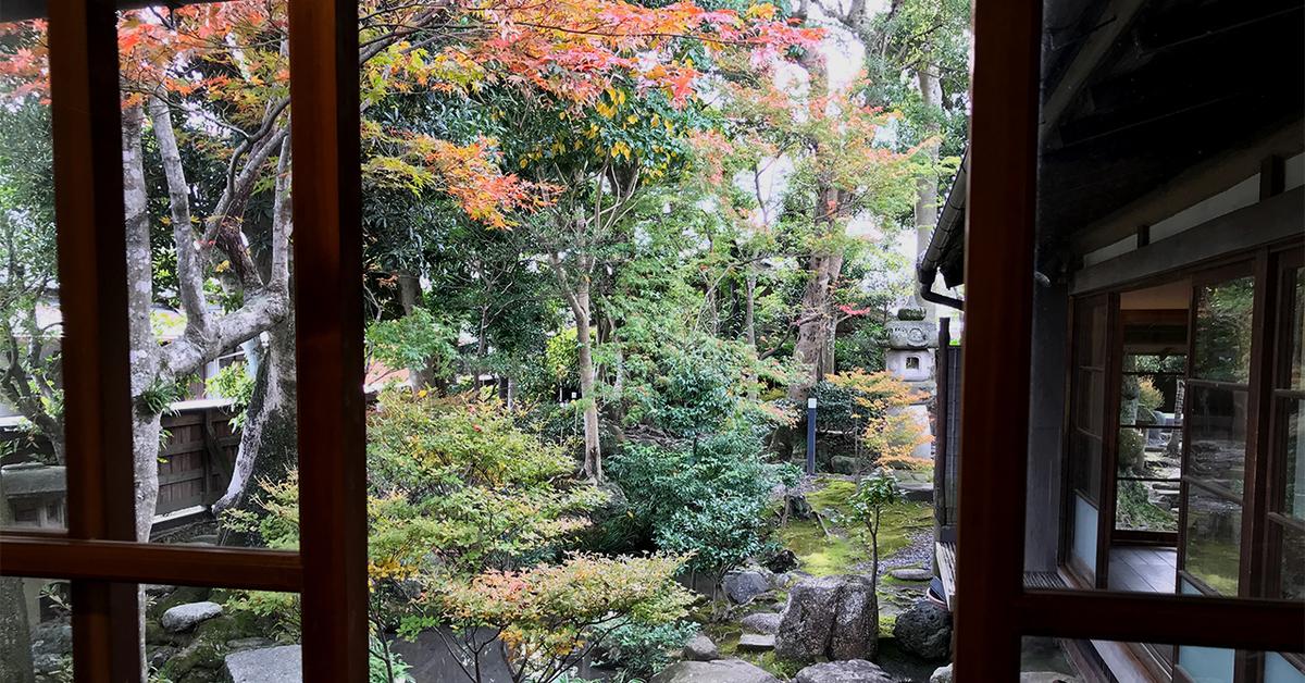 島田市博物館分館、日本家屋庭園