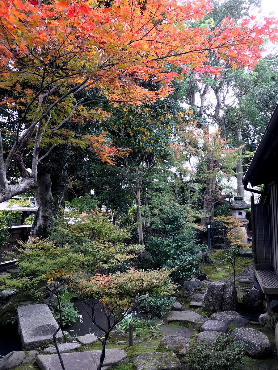 島田市博物館分館、紅葉