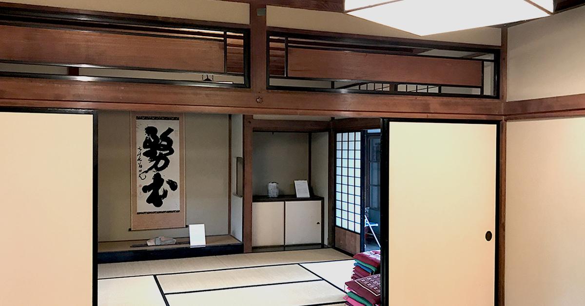 島田市博物館分館、国際陶芸フェスティバル展、上客の間の展示