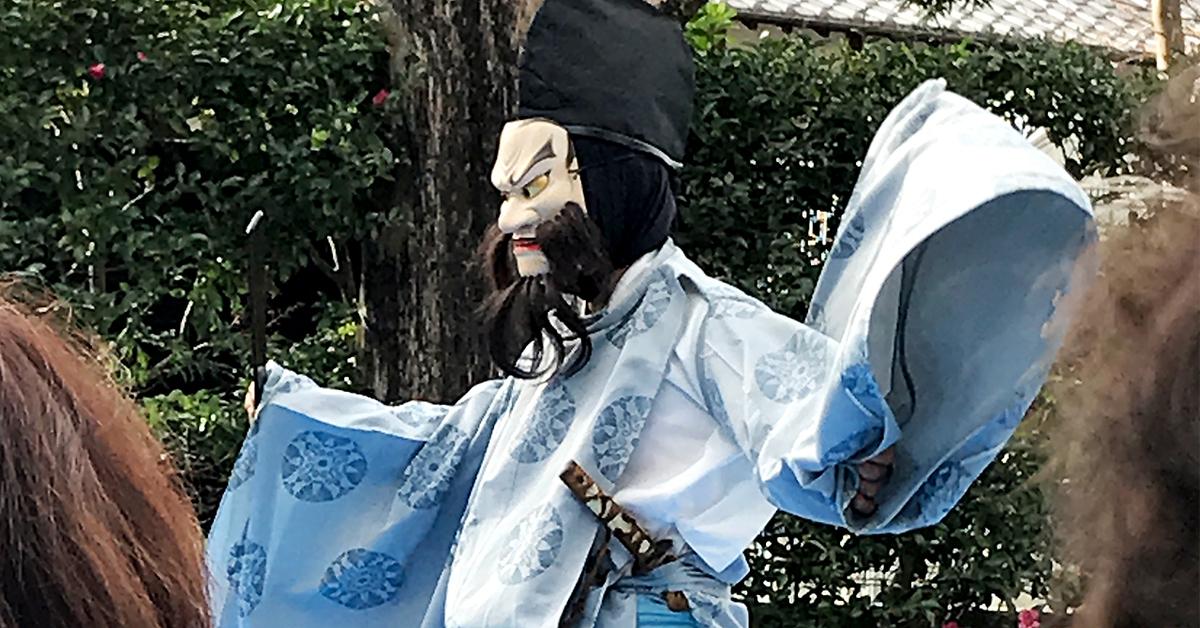 笹間神楽、須佐之男の舞