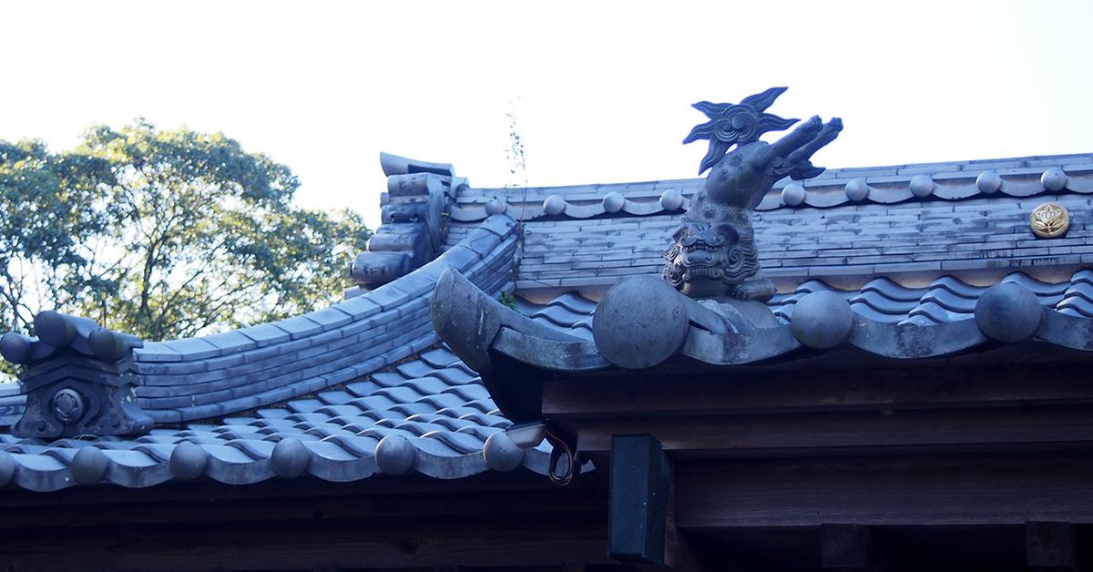 若宮八幡宮の跳び狛犬