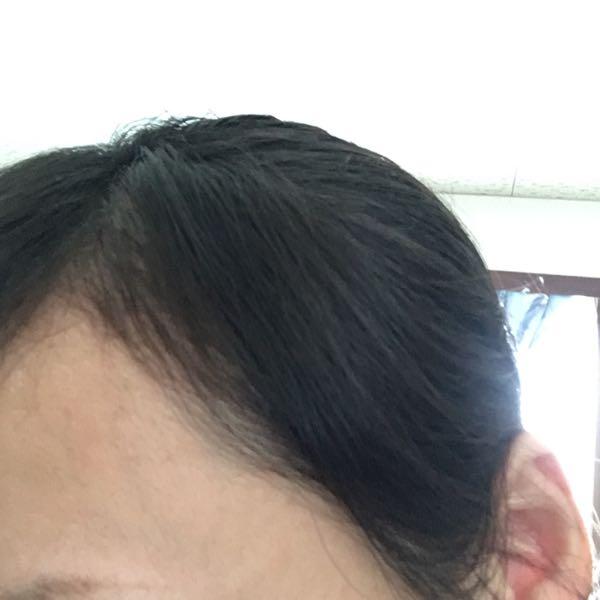 コスメクリーム後クセのない前髪