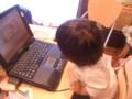お絵かき用Webサイト+Compaq Presario 1246 + マウスで絵を描き始めた2歳半(