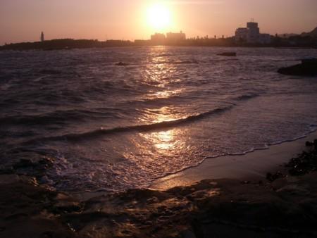 千葉の夕凪