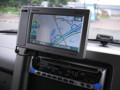 Mini GORILLA NV-SB260DTジャパネットモデル キューブへの取り付け