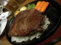 [もみじ亭][肉][ステーキ][洋食] もみじ亭 ロースステーキ250g(2,700円くらい?)