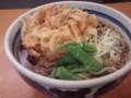 [蕎麦] 一心太助@田町 天ぷら蕎麦400円(かき揚げ)