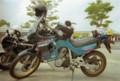 [ホンダ][バイク][トランザルプ]HONDA Transalp 400V 舞鶴~厚木移動途中(1997年5月)