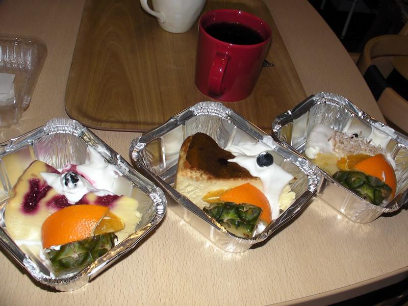 ららぽーと横浜 The Best Cheesecakes のチーズケーキ3種(セット品を持ち帰