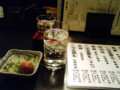 [日本酒]栃木 佐野 第一酒造 開華立春朝搾(写真奥)@しろや