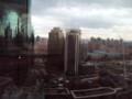 [上海]明城大酒店からみた朝の光景