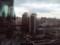 明城大酒店からみた朝の光景