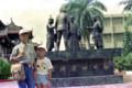 1985年夏 台湾旅行 台南 赤崁楼