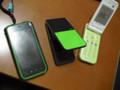 [携帯]歴代緑色携帯