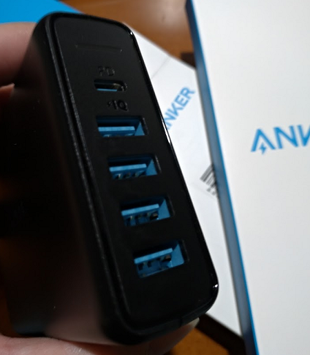 AnkerのPD対応充電器購入