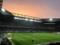 夕暮れの吹田サッカースタジアム