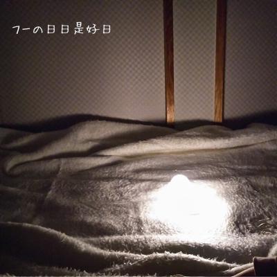 エジソン(EDISON) のLED授乳ランプ<とり>の25%の明るさ