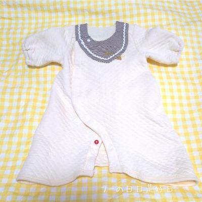 アカチャンホンポのドレスオール赤ちゃんに優しい仕様の写真