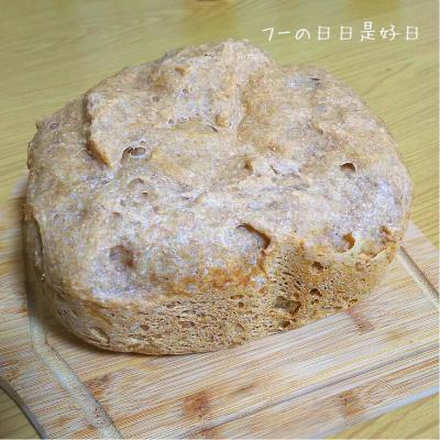 シロカのホームベーカリー(SHB-712)で焼いた全粒粉パン
