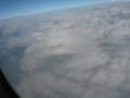 見えるかなぁ~決して飛行機の窓に出来てるのではありませんよ~。
